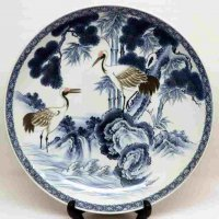 山徳窯・飾り皿・絵皿・大皿