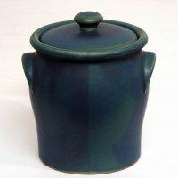 常滑焼・YAMAKI:IKAI・ヤマキイカイ・blossom・壺・蓋付き容器