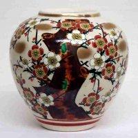 九谷焼・秀峰・花瓶