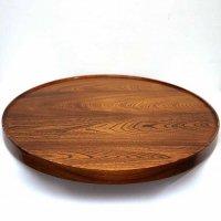 谷口・天然木・栓の木・漆塗・回転テーブル