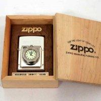 オイルライター・ZIPPO・時計付・限定品
