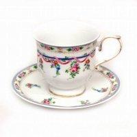 ノリタケ・Fine Porcelain・ファインポーセレン・ティーカップ・ソーサー