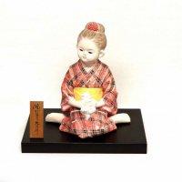 久月・博多人形・『陽だまり』