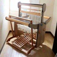 日本手織協会・手織�号機・機織機(はたおり機・機織り機)