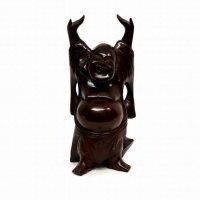 七福神・木彫り・万歳・布袋尊・置物・縁起物
