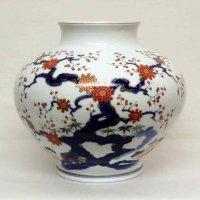 有田焼・深川製・花器・花瓶