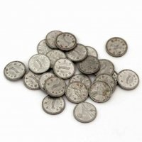 古銭・一銭硬貨・昭和16〜18年・25枚セット