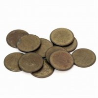 古銭・一円硬貨・昭和23年・24年・計12枚セット