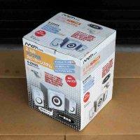 オーム電機・2.1ch・アンプ内蔵スピーカーシステム・S-2202S