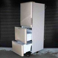 SHARP・シャープ・ノンフロン冷凍冷蔵庫・両開き・350L・SJ-W352B-N・2016年製