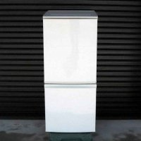 SHARP・シャープ・ノンフロン冷凍冷蔵庫・137L・SJ-D14C-W・2017年製