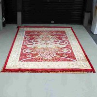 中国美術・緞通・シルク100%・絨毯
