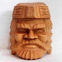 木彫り・アイヌ・面