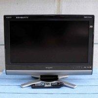 SHARP・シャープ・ブルーレイレコーダー内蔵・液晶カラーテレビ・LC26DX1・2009年製