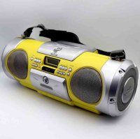Victor・日本ビクター・DRUM CAN・ドラムカン・CDラジカセ・コンポ・RV-X55-Y・2000年製