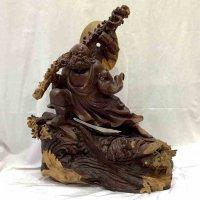 木彫り・達磨大師・立像