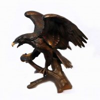 鷲・鳶・鳥・金属製・置物・飾り物