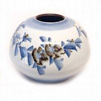 九谷焼・龍山・花器・花瓶