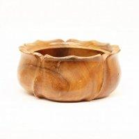 木製・菓子鉢・花型