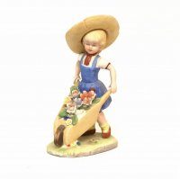 ガーデンオーナメント・少女・置物・人形・インテリア・雑貨