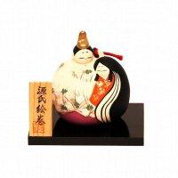 彩堂窯・源氏絵巻・土鈴・雛人形・ひな祭り
