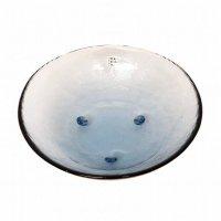 佐々木硝子・和風・瑠璃器・ミナモ・盛鉢・ガラス鉢・ガラス器