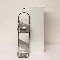 ガラス製・花器・花瓶・フラワーベース・フラスコ型