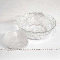 ガラス食器・ガラス大鉢・小鉢5点セット