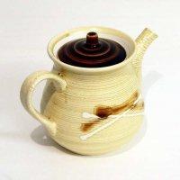 陶器製・ポット型・急須