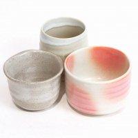 趣味の湯呑・抹茶碗・3個セット
