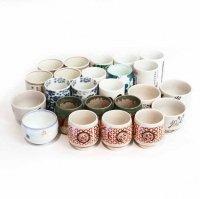 湯呑茶碗・まとめ売り・24点セット