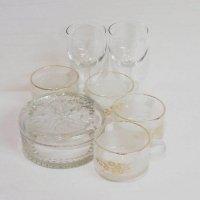 ガラス製・ワイングラス・マグカップ・小物入れ・まとめ売り・7点セット