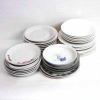食器・大皿・中皿・深皿・鉢・取っ手付丸皿・ソーサー・まとめ売り・計29点セット