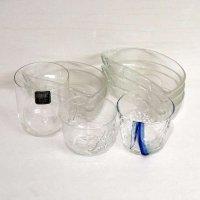 ガラス製・グラス・ガラス器・8点セット