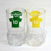 budweiser・バドワイザー・グラス・サッカー・ワールドカップ・2個セット