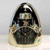 CITIZEN・シチズン・ジョイフルランド665・4SG665-002・置時計・クォーツ時計・レトロ