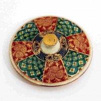 九谷焼・茶碗の蓋