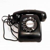 ダイヤル式・黒電話・600-A2・昭和レトロ