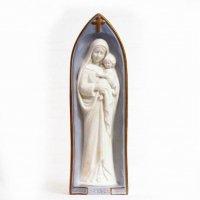 函館・トラピスチヌ・修道院・天使園・聖母マリア・像・置物