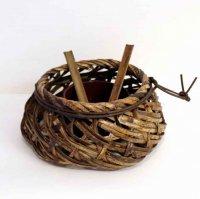 竹細工・編み篭・花器