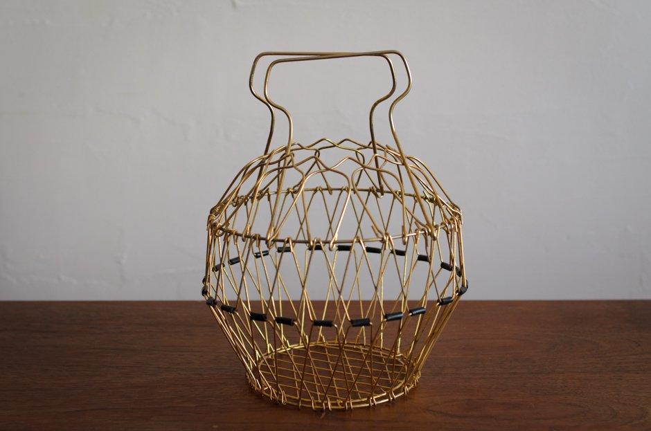 Finland Vintage Wire Basket
