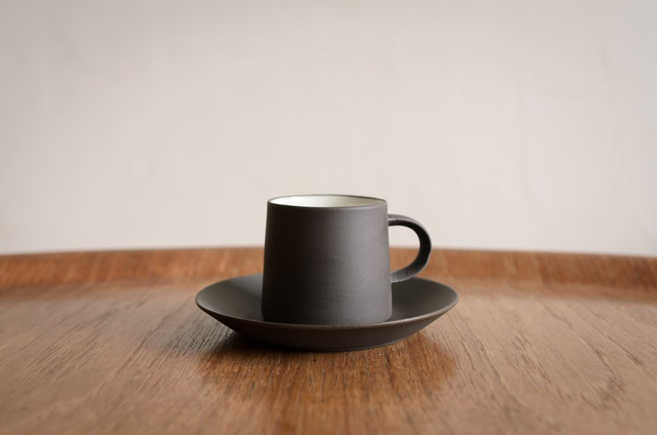 DANSK Flamestone コーヒーカップ&ソーサー #1 Jens H Quistgaard