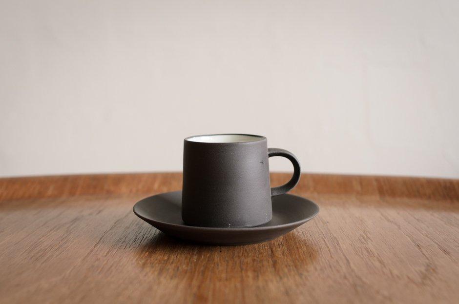 DANSK Flamestone コーヒーカップ&ソーサー #3 Jens H Quistgaard