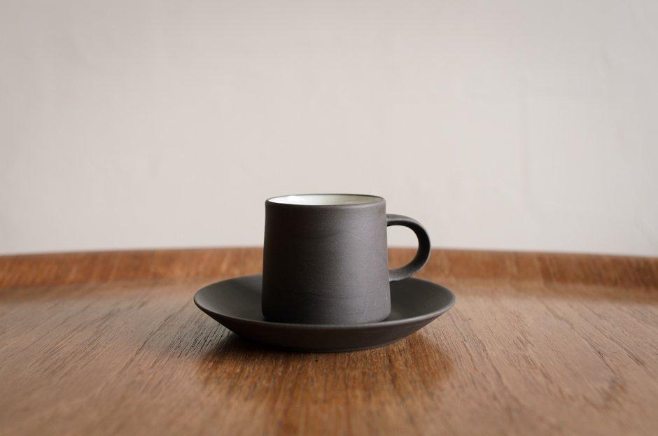 DANSK Flamestone コーヒーカップ&ソーサー #4 Jens H Quistgaard
