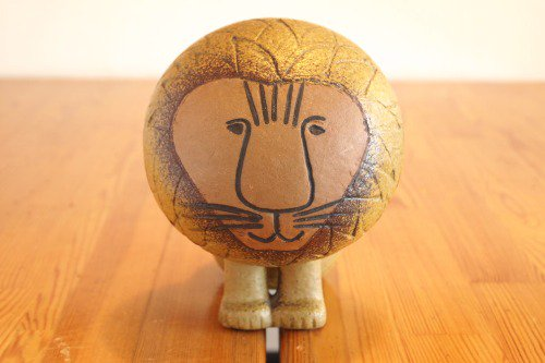 Gustavsberg Lisa Larson Lion  リサラーソン アフリカ ライオン