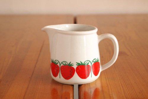ARABIA pomona Strawberry Creamer アラビア ポモナ イチゴ