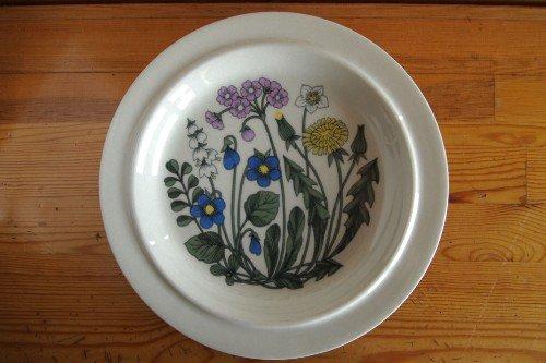 ARABIA Flora 25.5cm plate Esteri Tomula アラビア フローラ トムラ