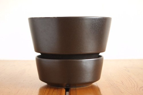 ARABIA Flower Pot Black / Richard Lindh アラビア 鉢 フラワーポット