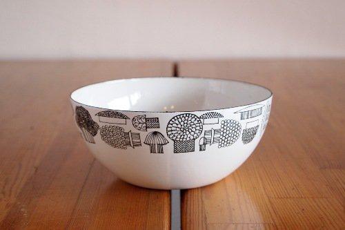 FINEL Tatti Bowl S / Esteri Tomula / フィネル キノコ エナメル ボウル エステリトムラ