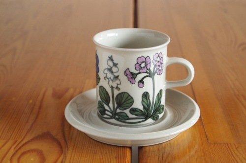 Arabia Flora Coffee C&S/Esteri Tomula/アラビア フローラ コーヒーカップ&ソーサー
